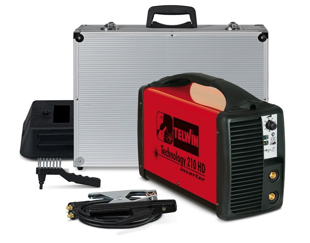 Сварочный инвертор Telwin Technology 210 HD с аксессуарами