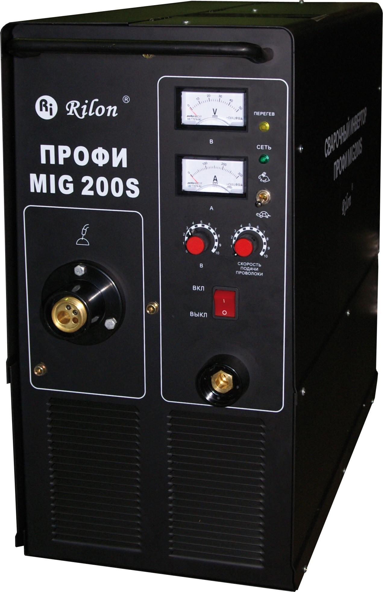 Инверторный полуавтомат MIG 200S ПРОФИ