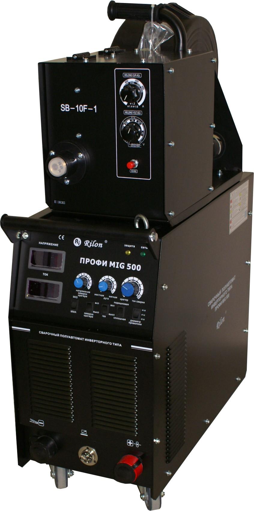 Инверторный полуавтомат MIG 500 ПРОФИ