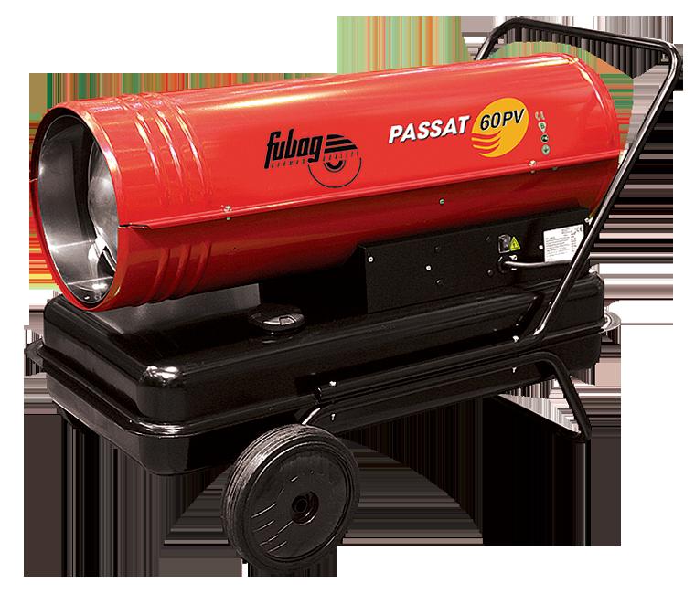 Тепловая пушка жидкотопливная прямого нагрева Fubag PASSAT 60 PV