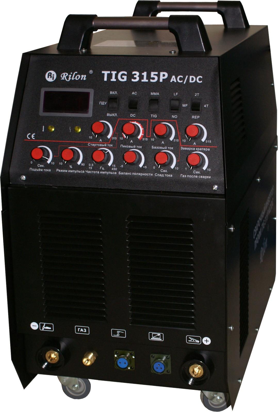 Сварочный инвертор аргонодуговой TIG-315P AC/DC Профи