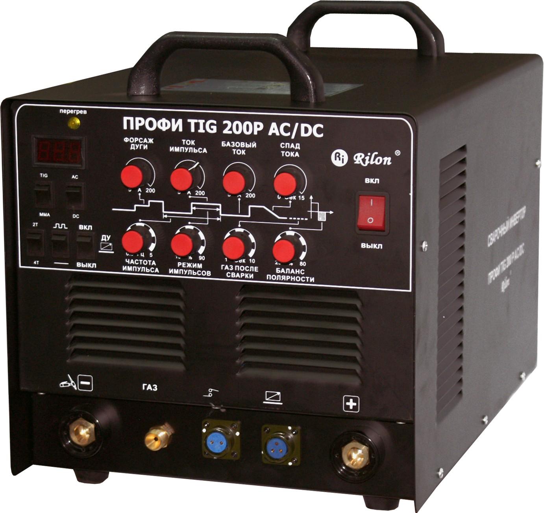 Сварочный инвертор аргонодуговой TIG-200P AC/DC ПРОФИ