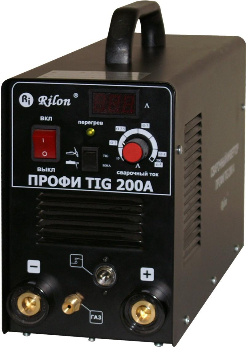 Сварочный инвертор аргонодуговой TIG 200A Профи DC