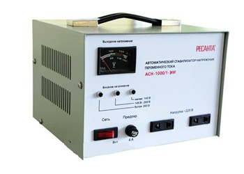 Электромеханический стабилизатор напряжения Ресанта АСН-1000/1-ЭМ