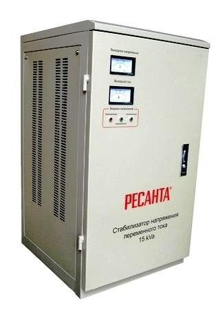 Электромеханический стабилизатор напряжения Ресанта АСН-15000/1-ЭМ