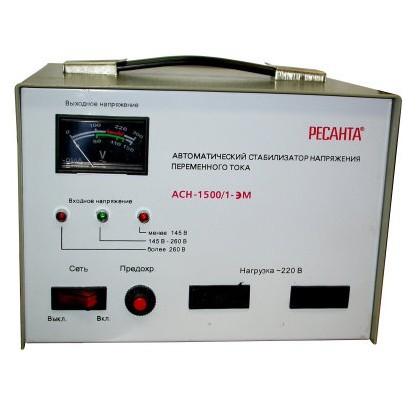 Электромеханический стабилизатор напряжения Ресанта АСН-1500/1-ЭМ