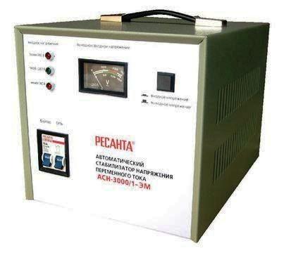 Электромеханический стабилизатор напряжения Ресанта АСН-3000/1-ЭМ