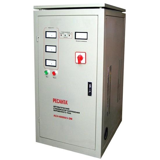 Электромеханический стабилизатор напряжения Ресанта АСН-60000/3-ЭМ