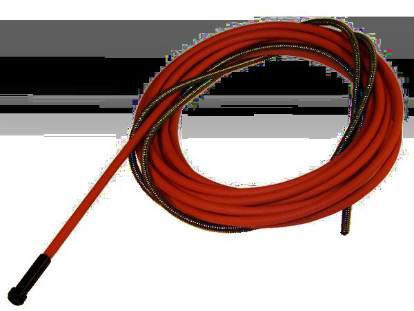 Канал подающий 1,0-1,2 красный 4м