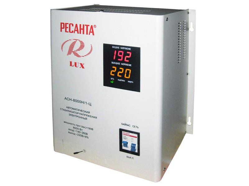 Цифровой стабилизатор напряжения Ресанта ACH-8000Н/1-Ц