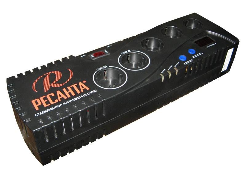 Цифровой стабилизатор напряжения Ресанта С1000