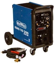 Сварочный инвертор King TIG 200 AC/DC-HF/Lift 3