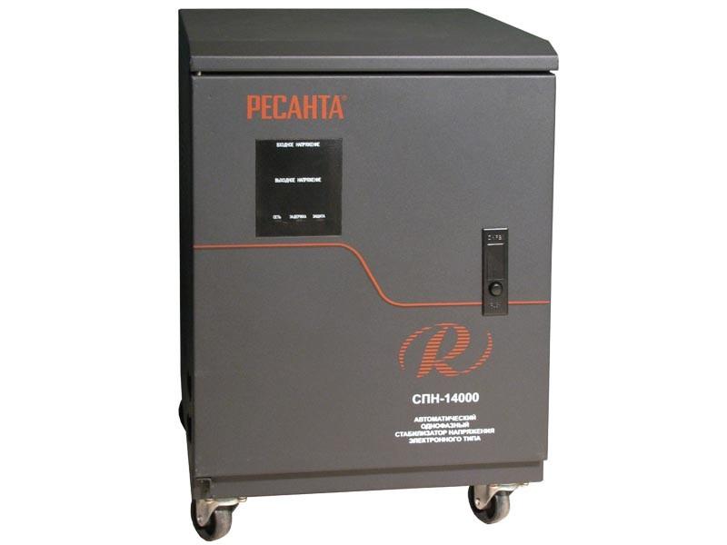 Цифровой стабилизатор напряжения Ресанта СПН-14000